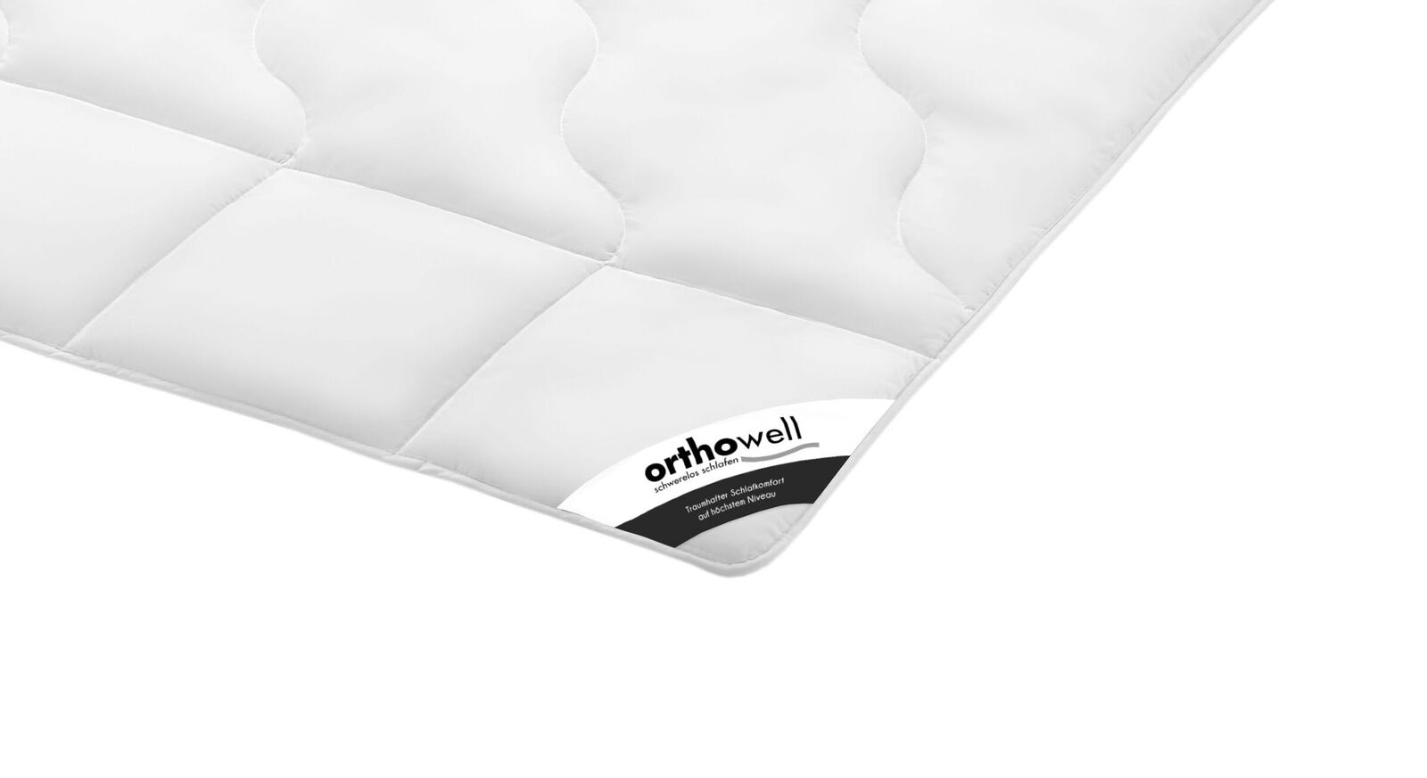 Preiswerte Faser-Bettdecke orthowell Standard warm