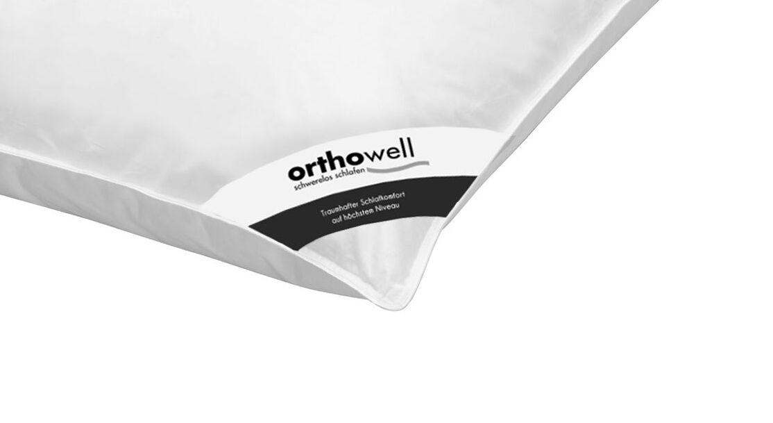 Faser-Kissen orthowell Premium in Markenqualität