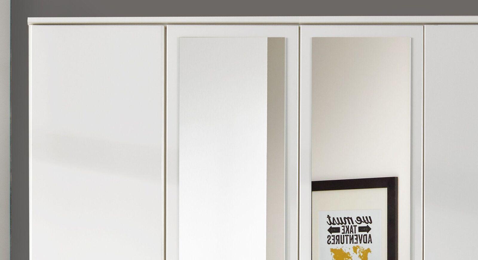 Funktions-Kleiderschrank Lari mit eleganter Kranzleiste