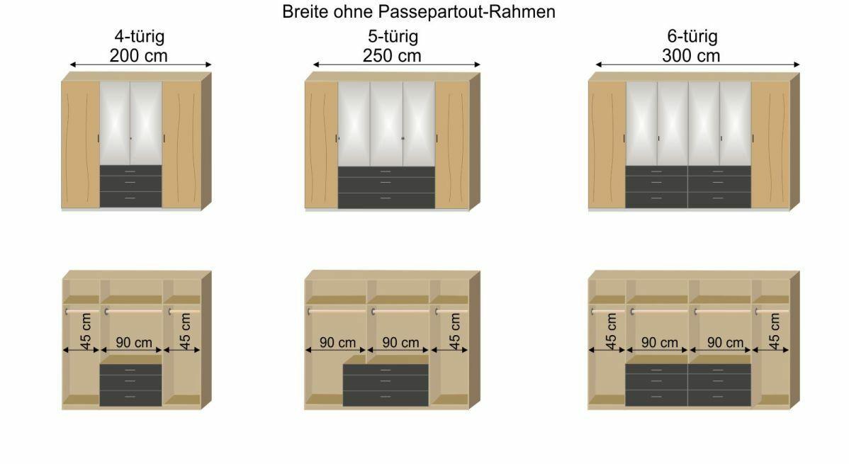 Grafik zur Innenausstattung des Funktions-Kleiderschranks Mancos