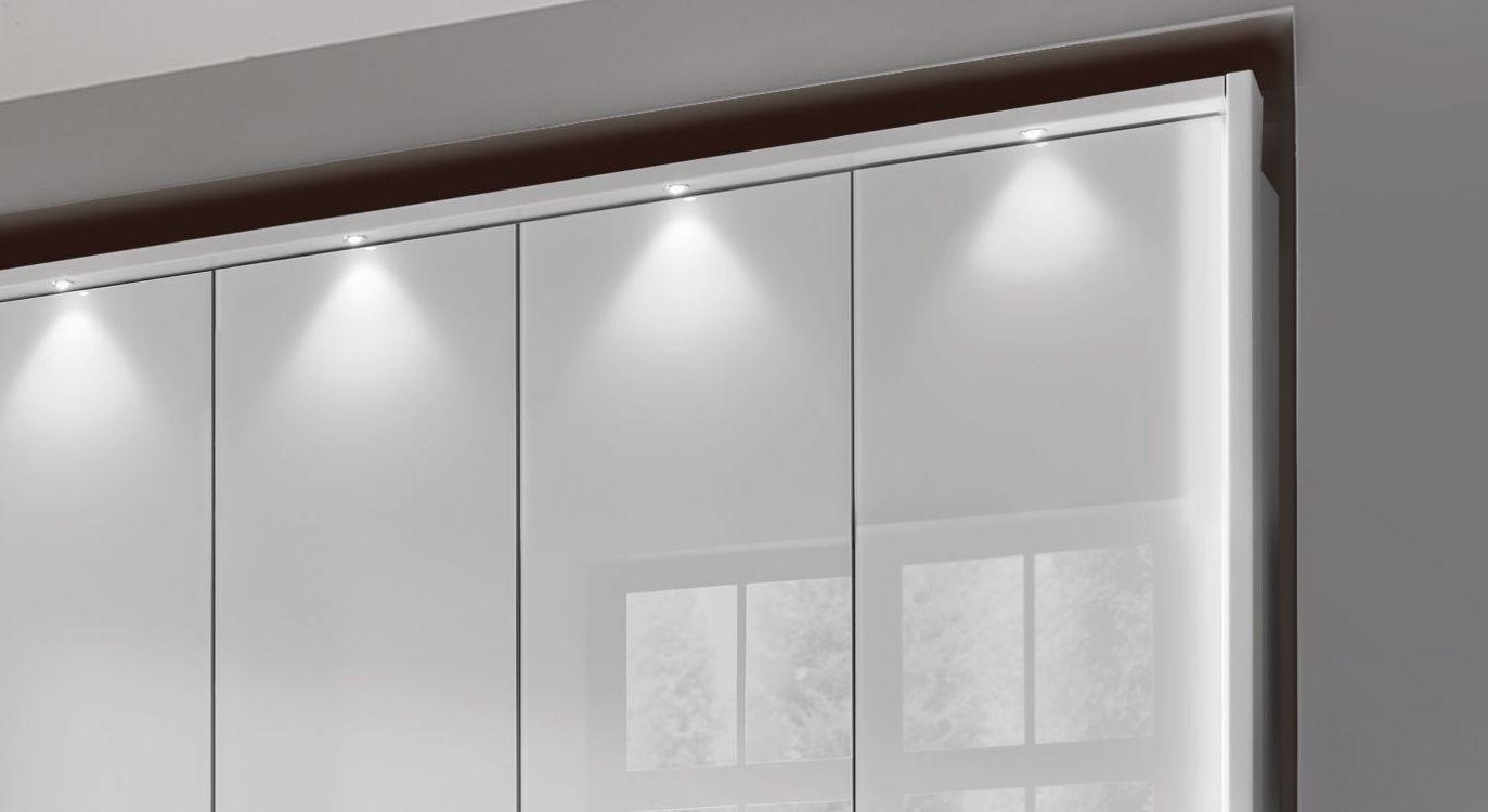 Funktions-Kleiderschrank Westville mit schicken LED-Leuchten