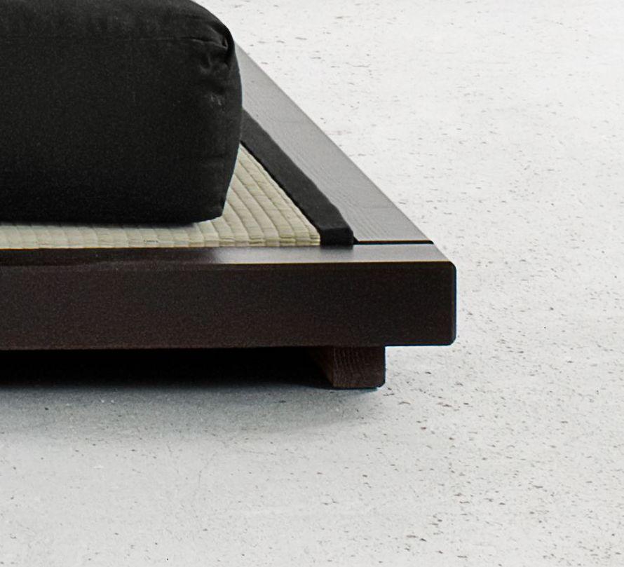Massives Futonbett traditionelles japanisches Design - Cimino