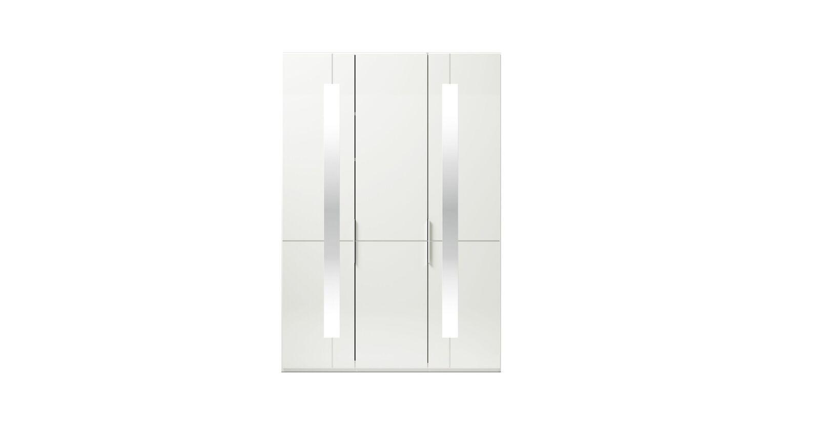 3-türiger GALLERY M Drehtüren-Kleiderschrank IMOLA W Weiß