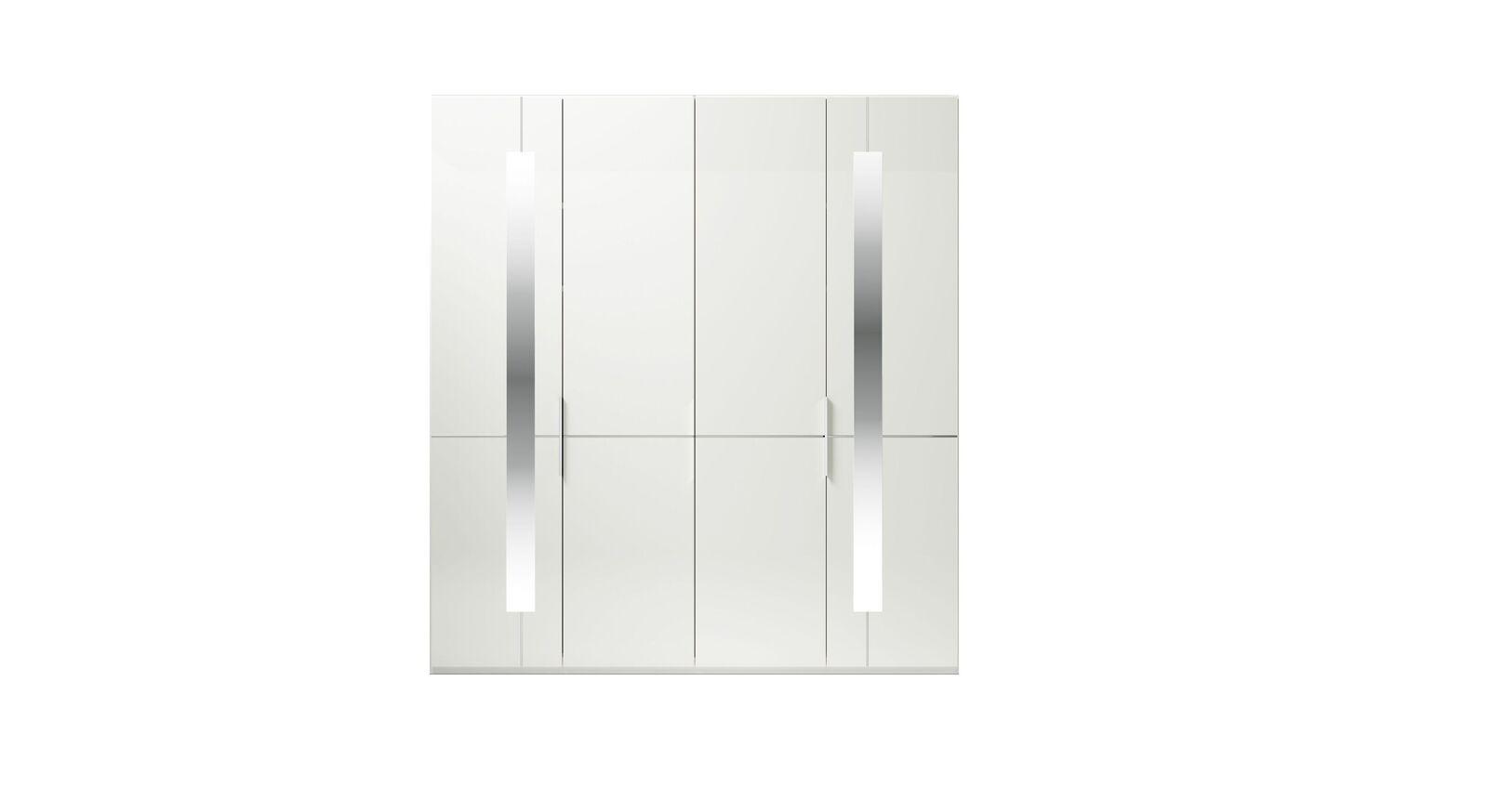 4-türiger GALLERY M Drehtüren-Kleiderschrank IMOLA W Weiß