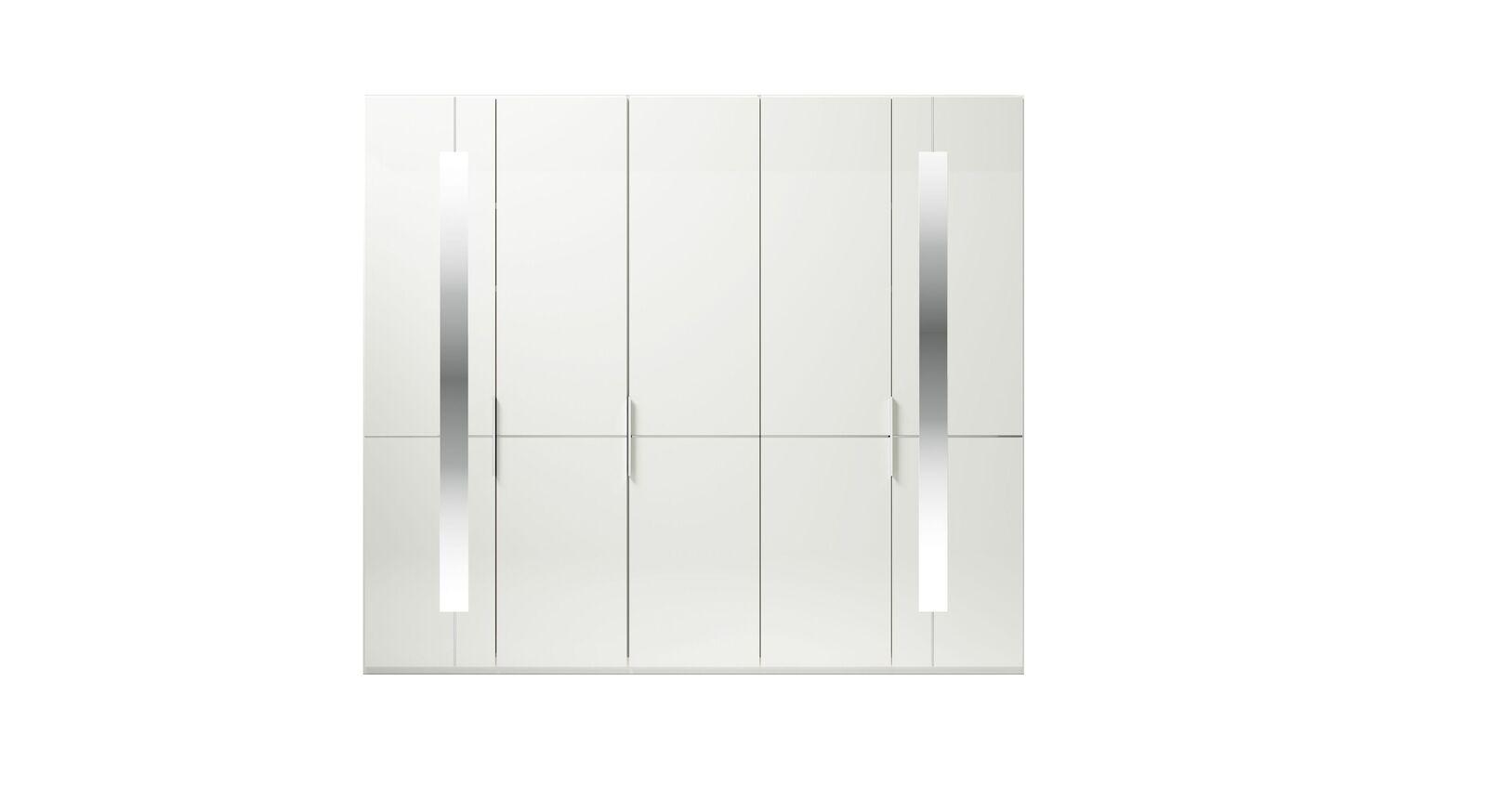 5-türiger GALLERY M Drehtüren-Kleiderschrank IMOLA W Weiß
