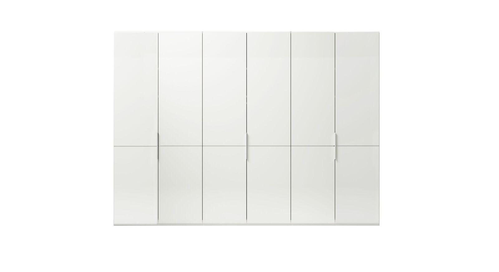 6-türiger GALLERY M Drehtüren-Kleiderschrank IMOLA W Weiß ohne Spiegel
