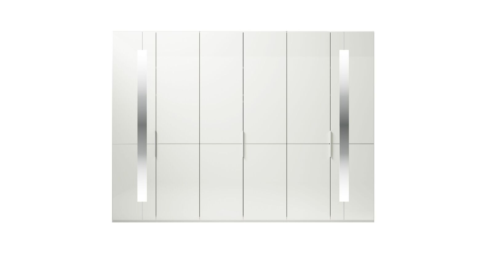6-türiger GALLERY M Drehtüren-Kleiderschrank IMOLA W Weiß