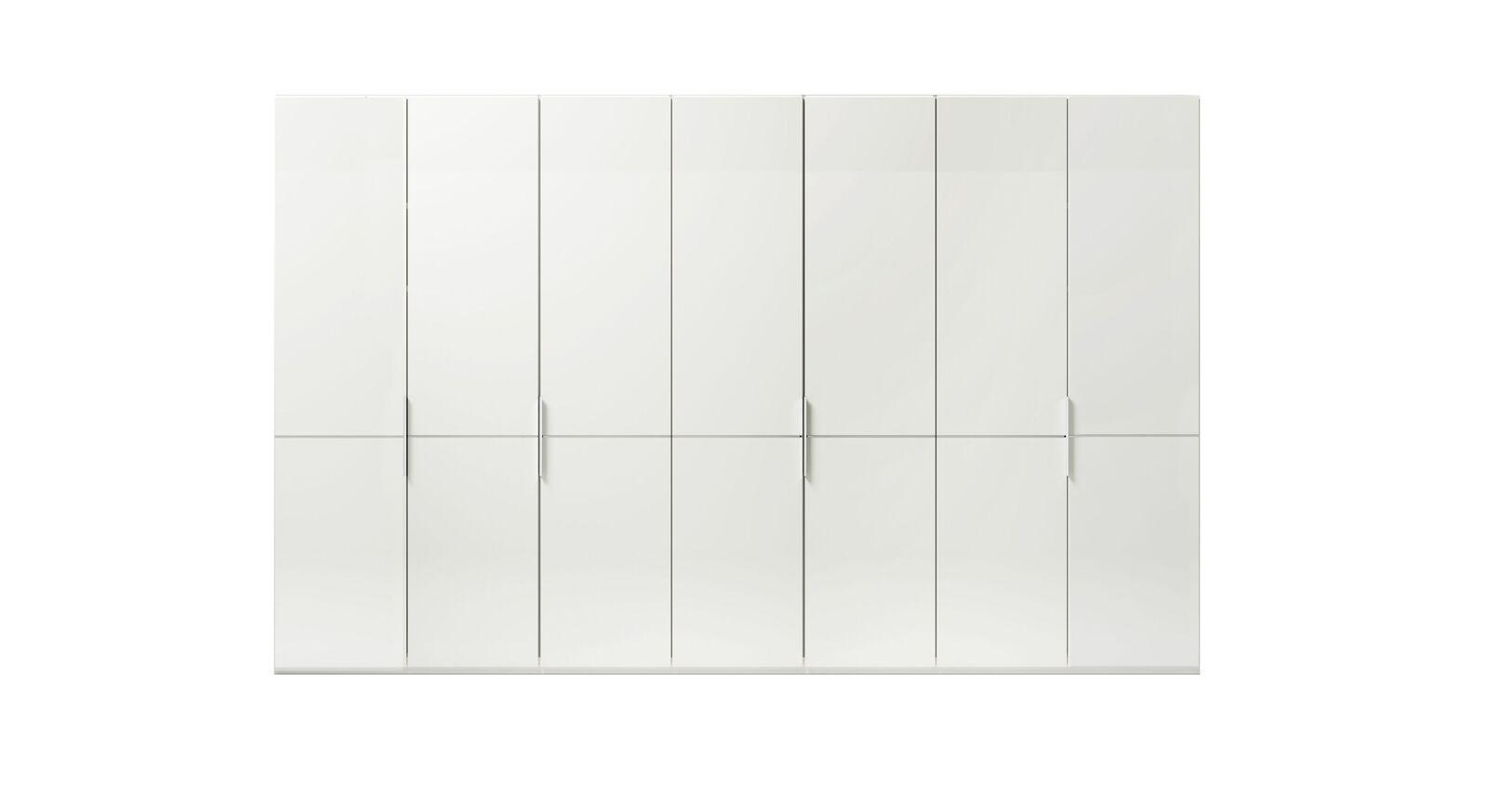 7-türiger GALLERY M Drehtüren-Kleiderschrank IMOLA W Weiß ohne Spiegel