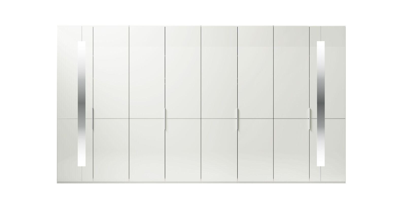 8-türiger GALLERY M Drehtüren-Kleiderschrank IMOLA W Weiß