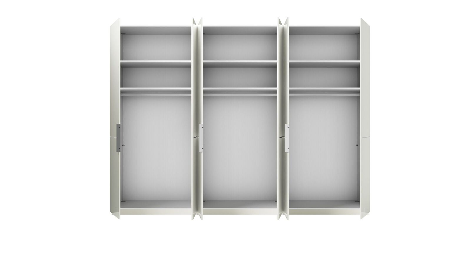 GALLERY M Drehtüren-Kleiderschrank IMOLA W in Weiß mit Basic-Innenausstattung