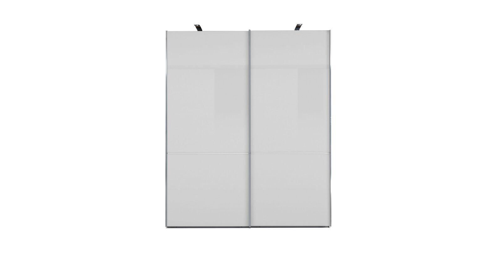 GALLERY M Schwebetüren-Kleiderschrank IMOLA W Weiß - 2-türig ohne Zierspiegel