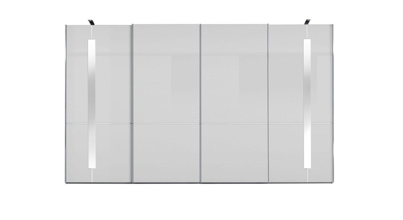 GALLERY M Schwebetüren-Kleiderschrank IMOLA W Weiß - 4-türig ohne Zierspiegeln