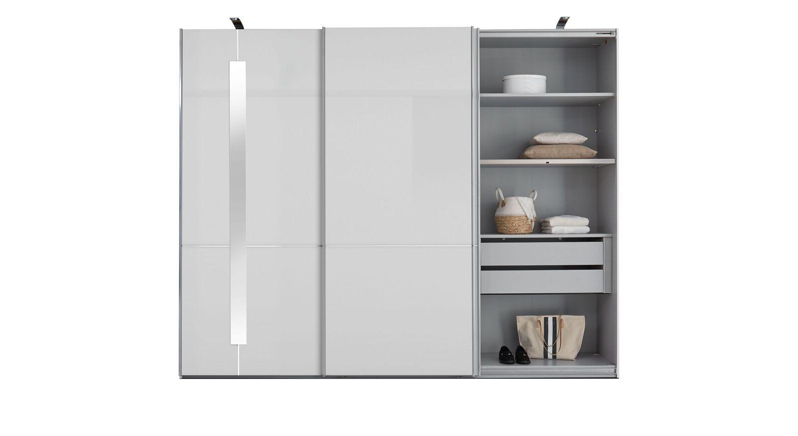 GALLERY M SChwebetüren-Kleiderschrank IMOLA W in Weiß mit Zusatz-Ausstattung