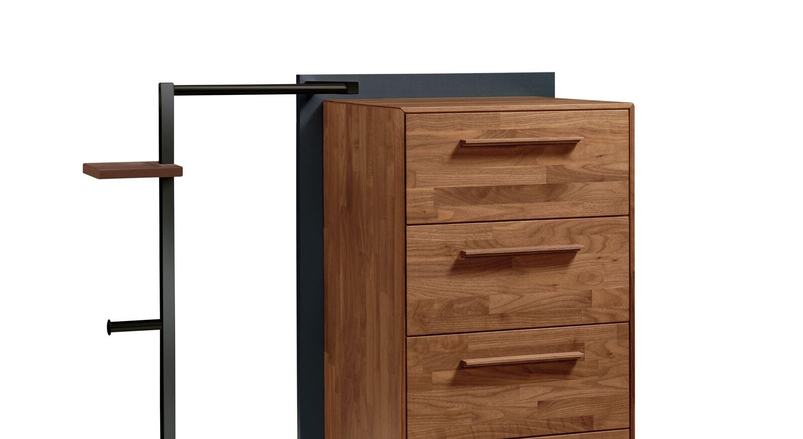 Garderoben-Kommode Ronario mit kleiner Ablageplatte