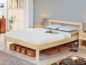 Günstiges Schlafzimmer komplett in Kiefer natur - Bregenz