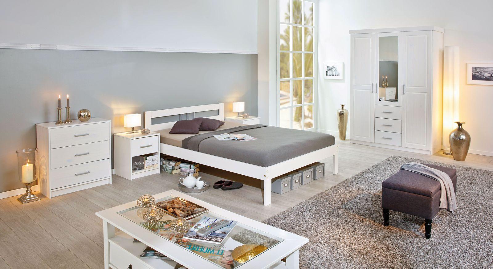 Günstiges Jugendzimmer Genf mit weißen Möbeln