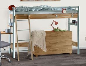 stabile hochbetten f r studenten und junge erwachsene. Black Bedroom Furniture Sets. Home Design Ideas
