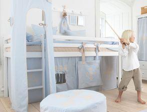 halbhohe betten f r kleinkinder g nstig kaufen. Black Bedroom Furniture Sets. Home Design Ideas