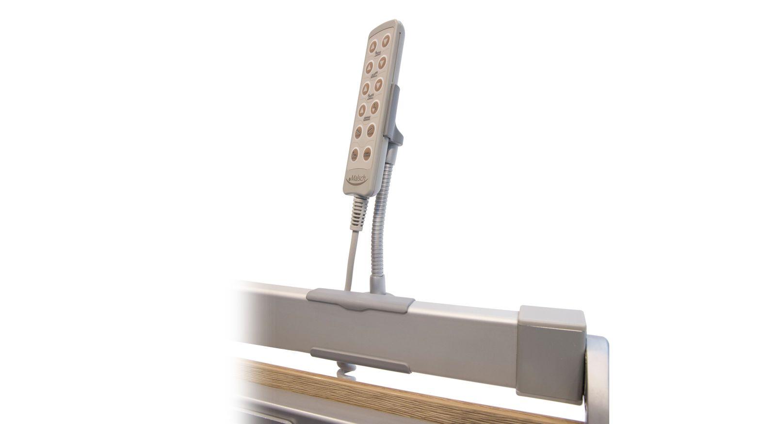 Handschalterhalterung flexibel mit Schwanenhals individuell verstellbar