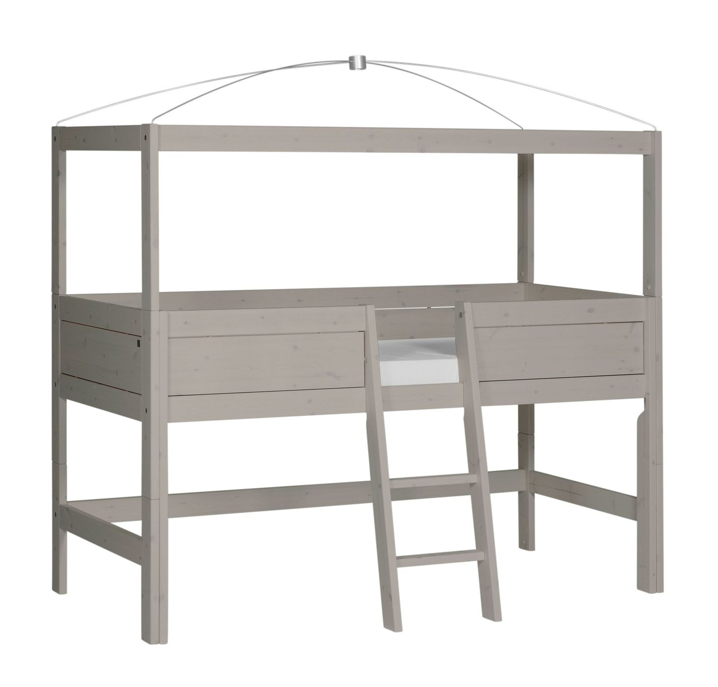 lifetime kiefer himmelbett f r kinder mit baldachin. Black Bedroom Furniture Sets. Home Design Ideas