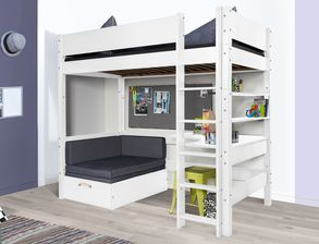 stabile hochbetten f r studenten und junge erwachsene. Black Bedroom Furniture Sets. Home Design Ideas