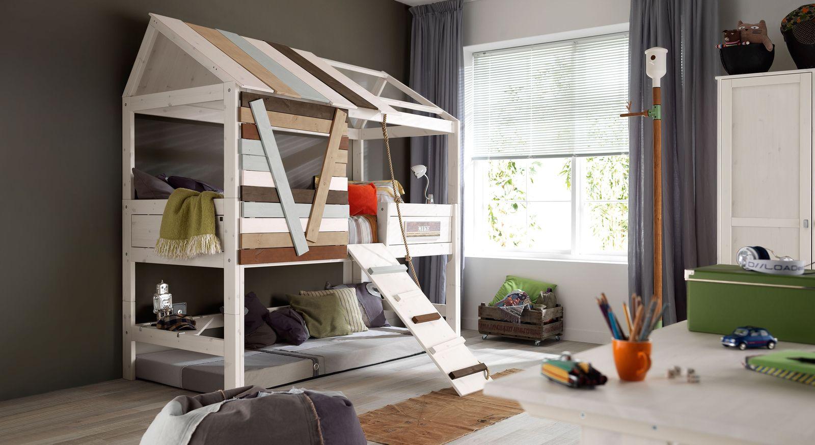 LIFETIME Hütten-Hochbett Survival zum Spielen für Kinder