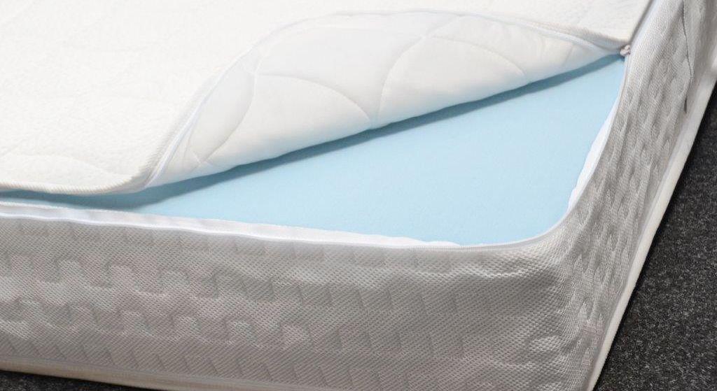 HygienePlus-Ausstattung mit abnehmbarem Bezug dank Reißverschlüssen