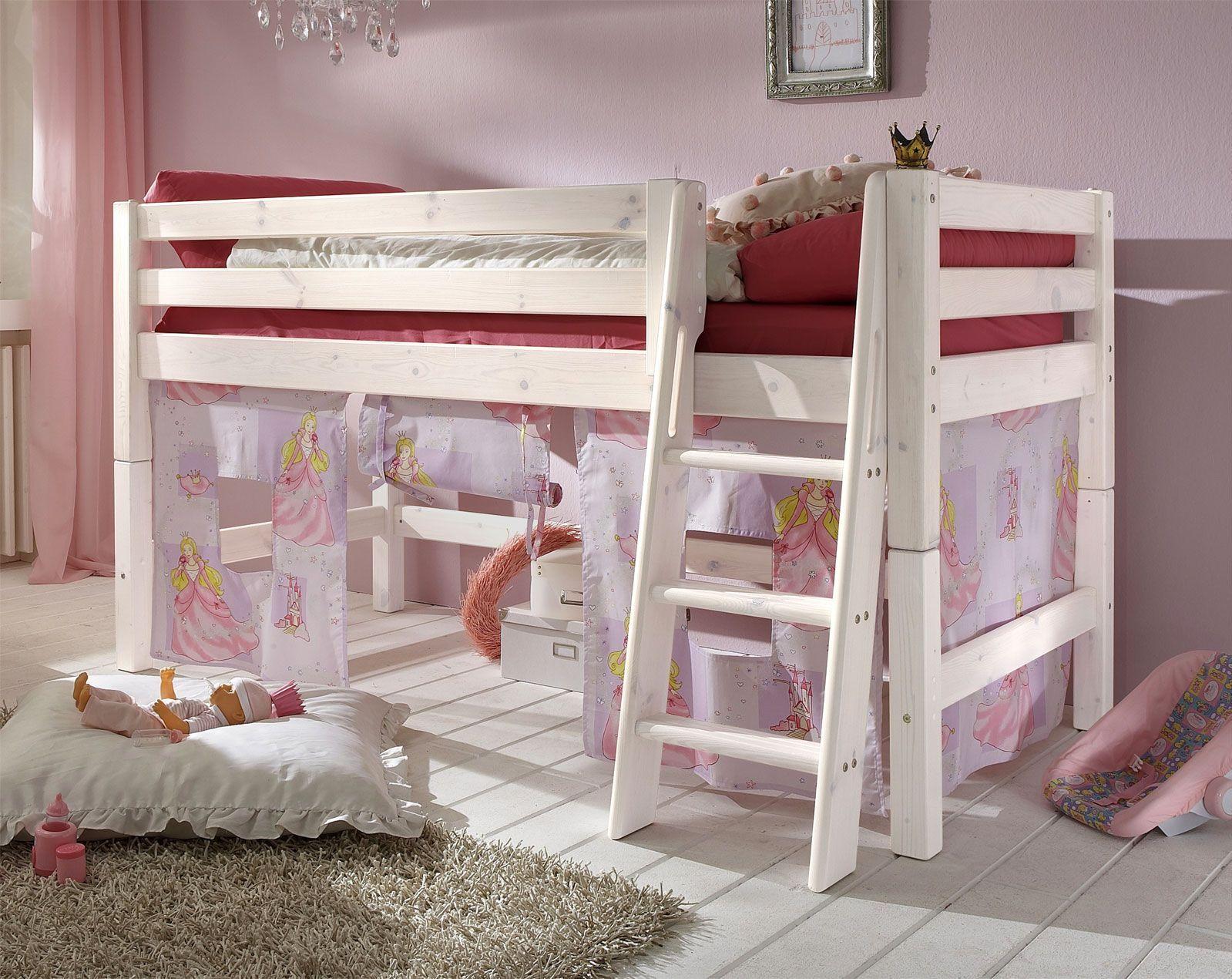 Etagenbett Vorhang Set Mädchen : Oliver furniture vorhang set für halbhochbett etagenbett