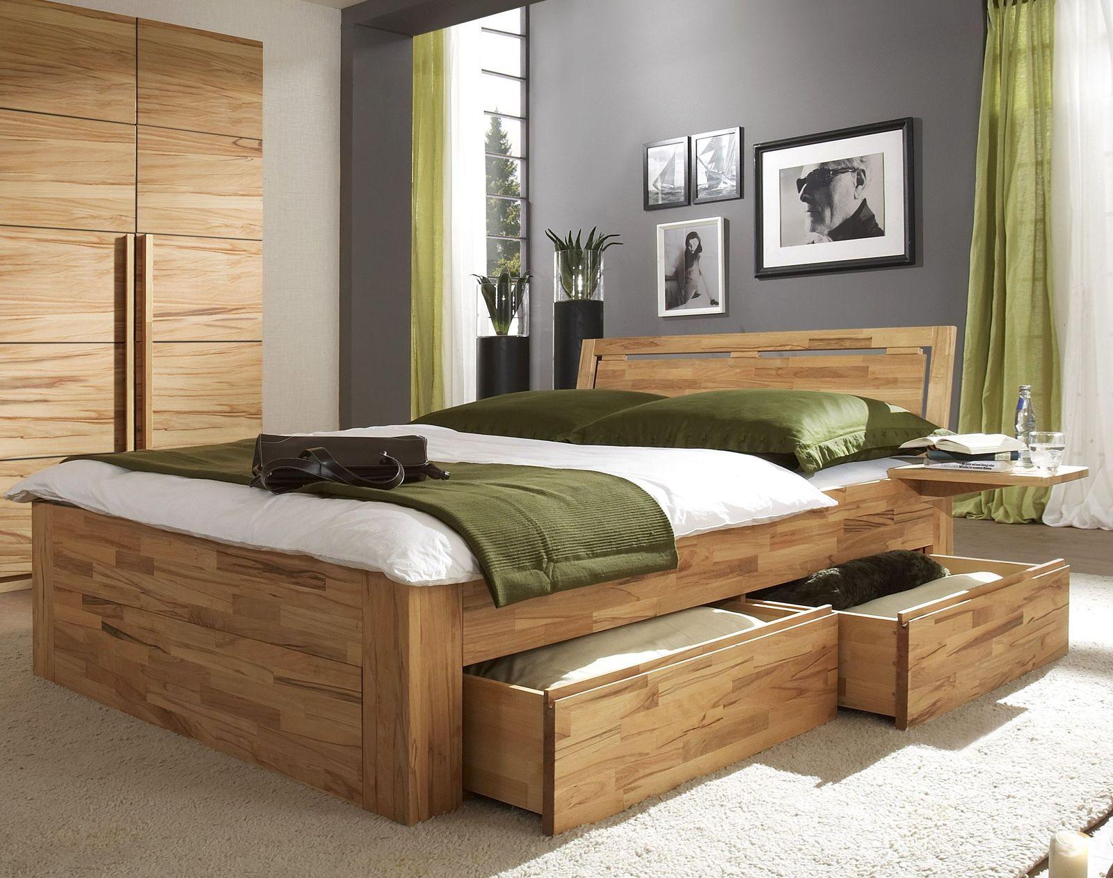 Schubkasten-Doppelbett \