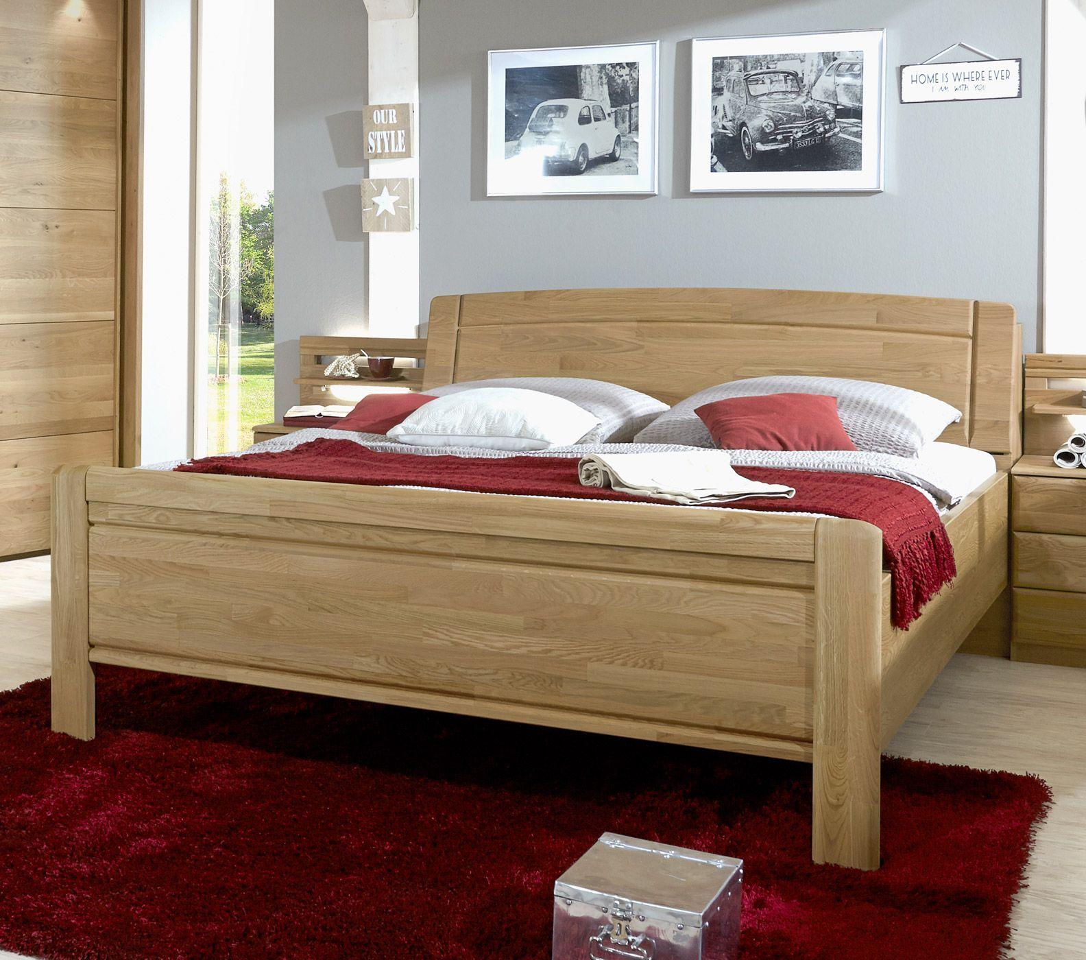 bett mit stauraum im kopfteil im landhausstil quebo. Black Bedroom Furniture Sets. Home Design Ideas
