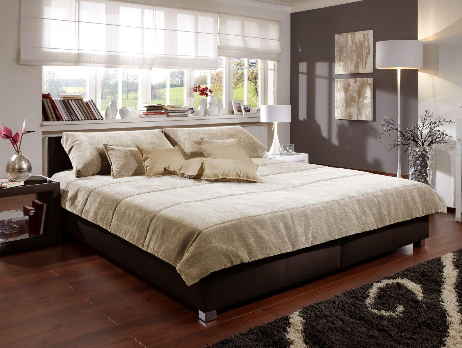 Polsterbett für Ihr Schlafzimmer z. B. in Weiß - Amadeo
