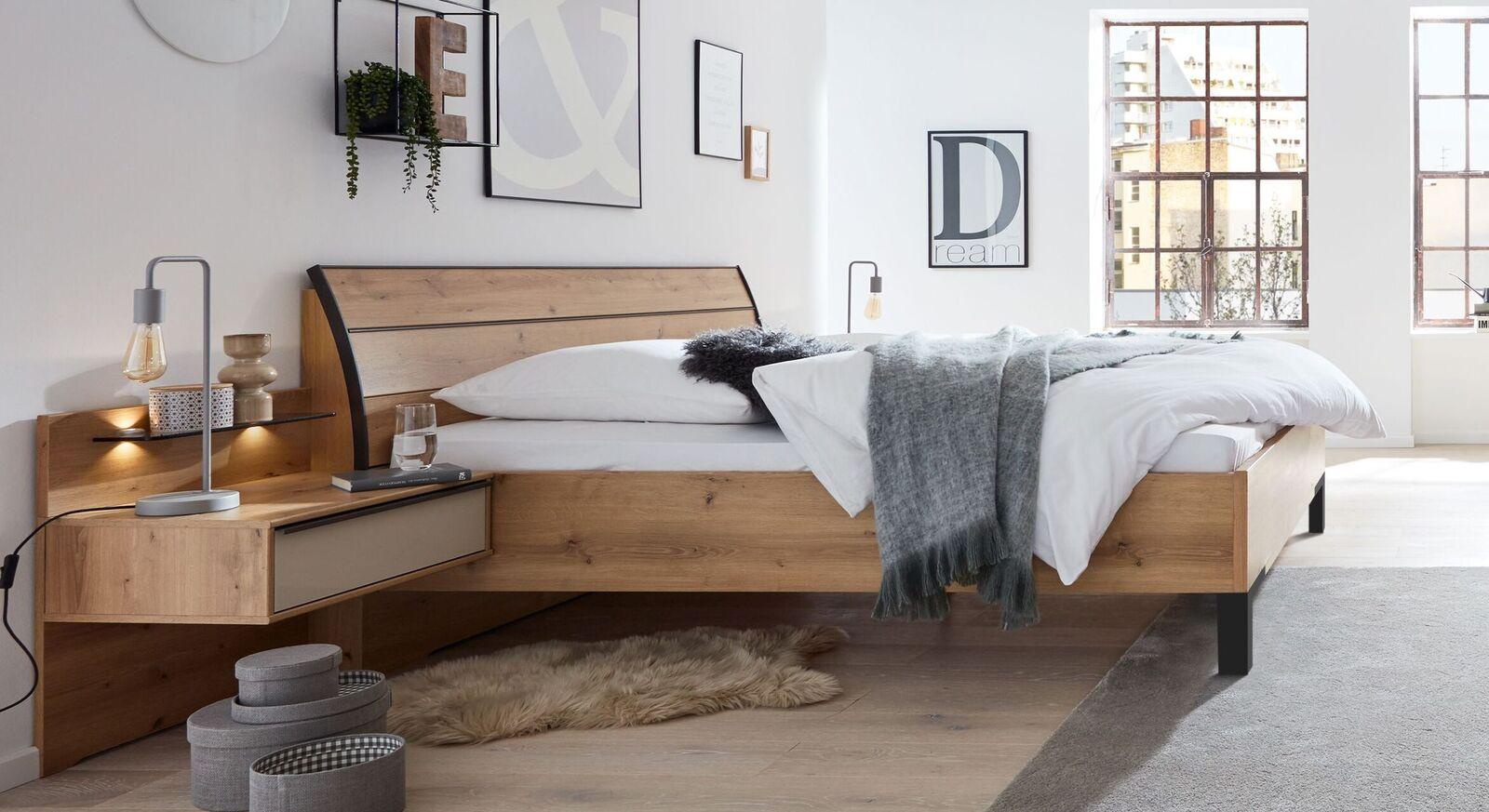 INTERLIVING Bett 1205 mit Komfort-Bettrahmenhöhe