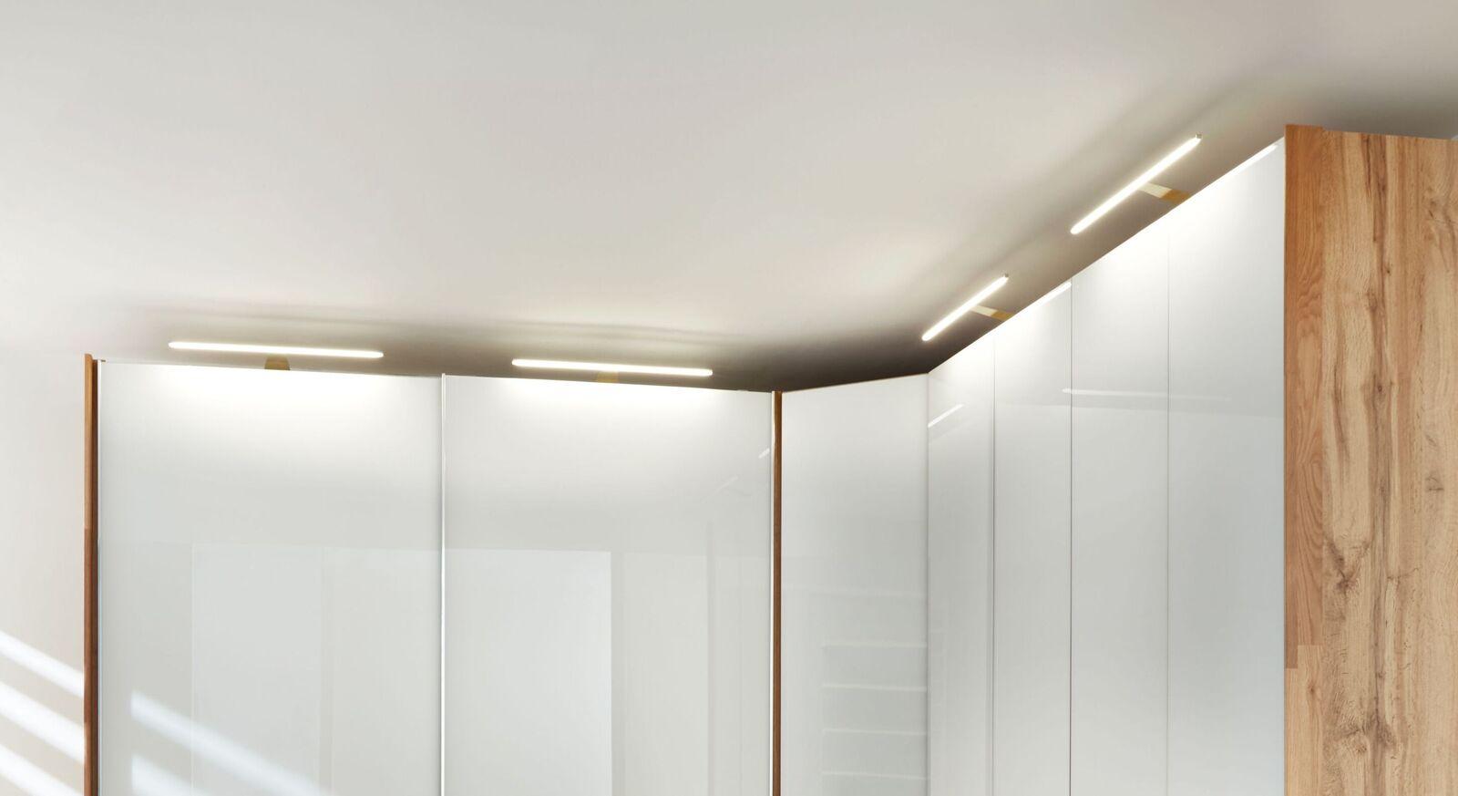 INTERLIVING Kleiderschrank LED-Aufsatzleuchten