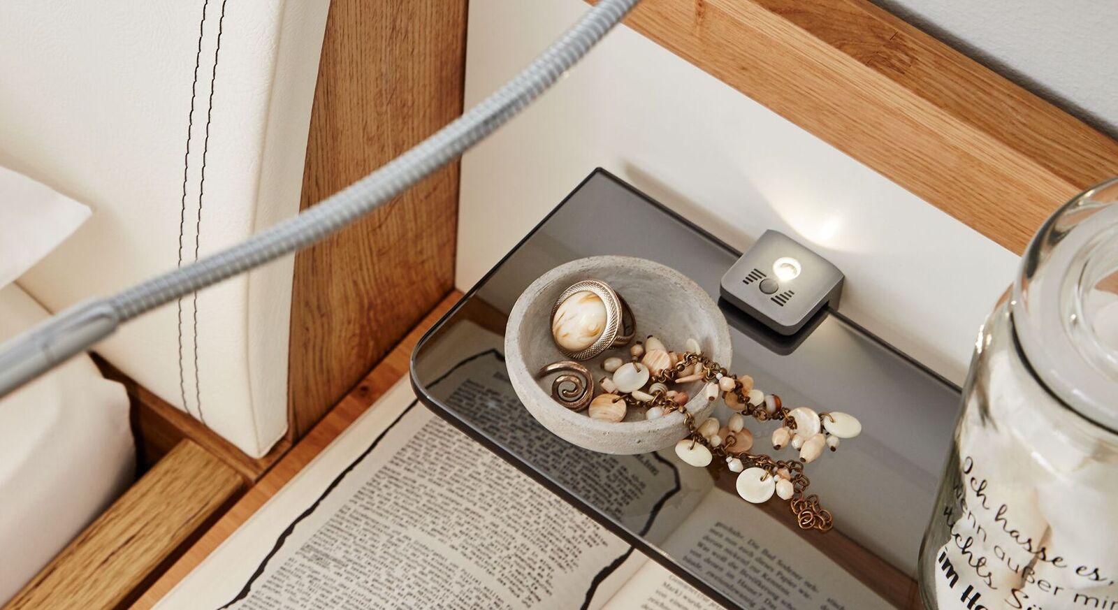 INTERLIVING Nachttisch-Aufsatzpaneel 1202 mit LED-Beleuchtung