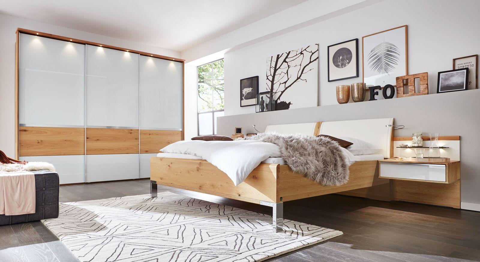 Modernes INTERLIVING Schlafzimmer 1202 mit Zubehör