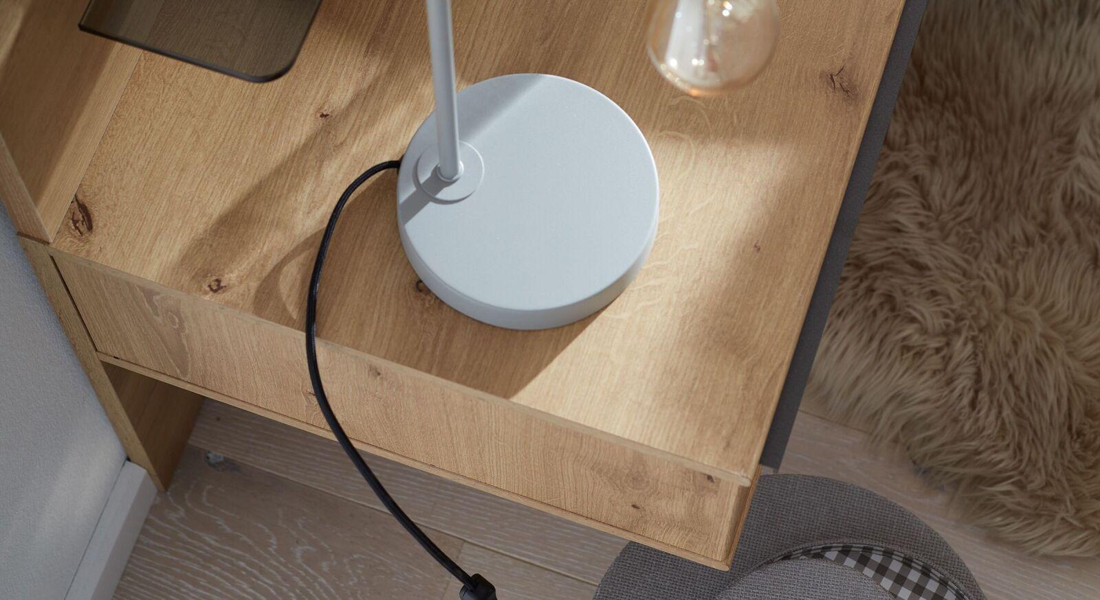 INTERLIVING Schwebe-Nachttisch 1205 mit großer Ablagefläche
