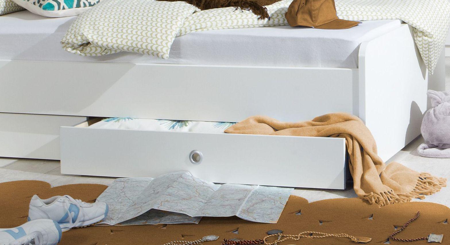 Jugendbett Armillas Bettschublade mit Griffloch