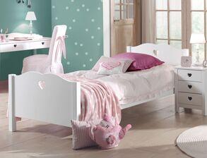 Teen Mädchen machen aus Bett