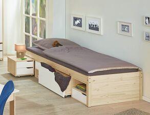 multifunktionsbetten z b mit ausziehfunktion kaufen. Black Bedroom Furniture Sets. Home Design Ideas