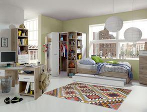 Jugendzimmer komplett einrichten mit m beln von for Jugendzimmer komplett mit funktionsbett