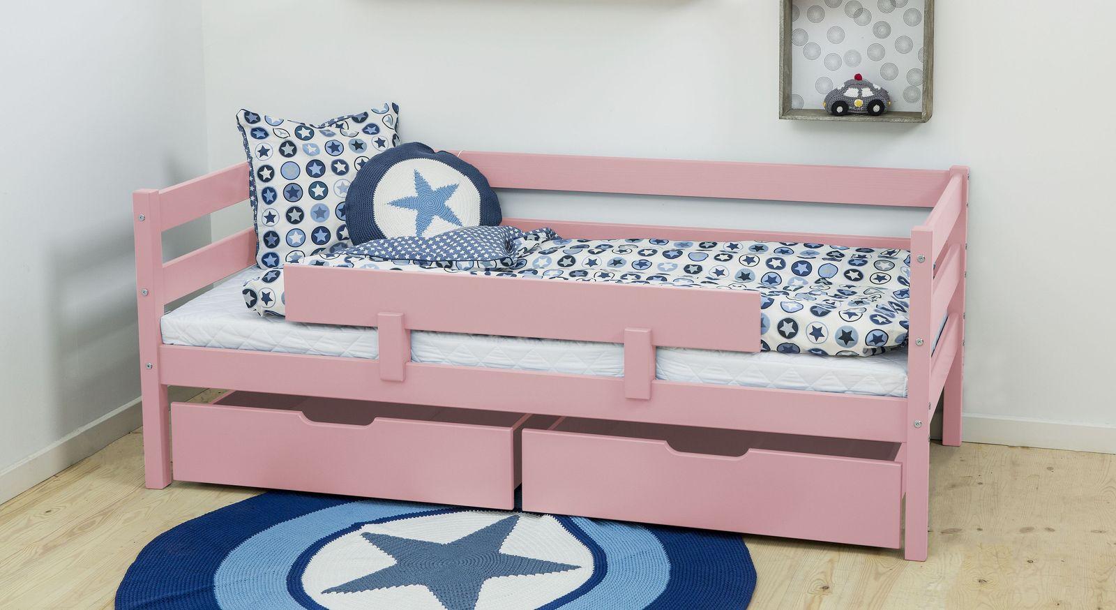 Juniorbett Kids Heaven mit roséfarbener Lackierung