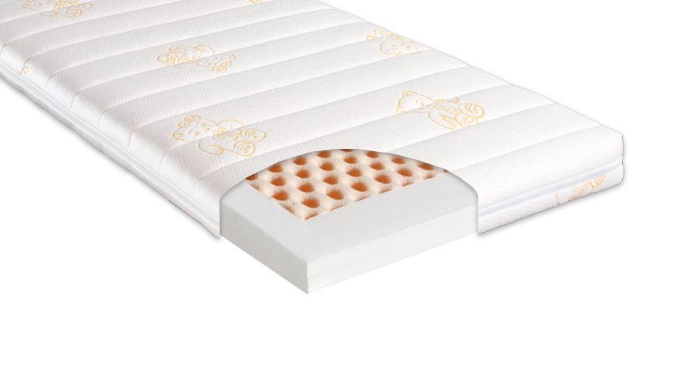 Mittelfeste Kaltschaum-Matratze babycomfort von ergovital
