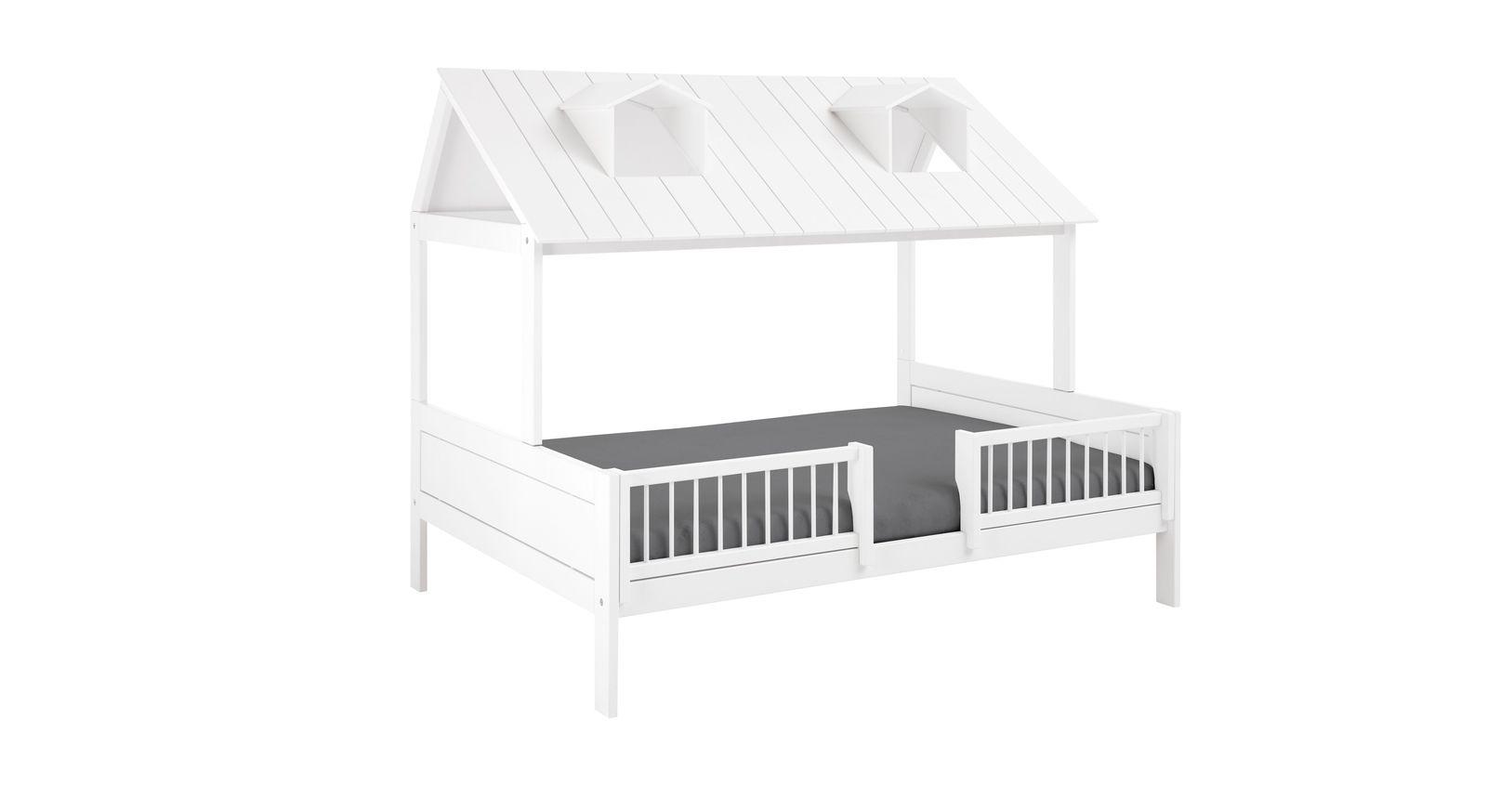 LIFETIME Kinderbett Ferienhaus 140x200 cm