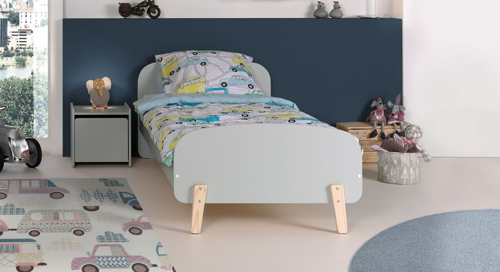 Kinderbett Maila Color aus robustem MDF