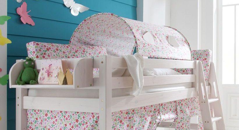 Kissen Kids Paradise mit Blumen für Mädchen