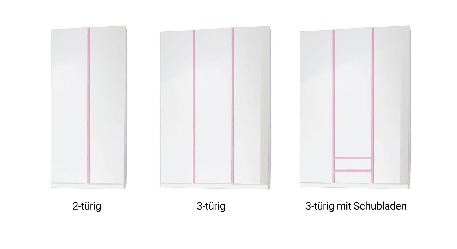 Varianten-Übersicht des Kleiderschranks Armilla