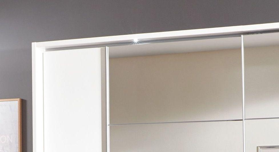 Kleiderschrank Maniago mit Spot-Beleuchtung