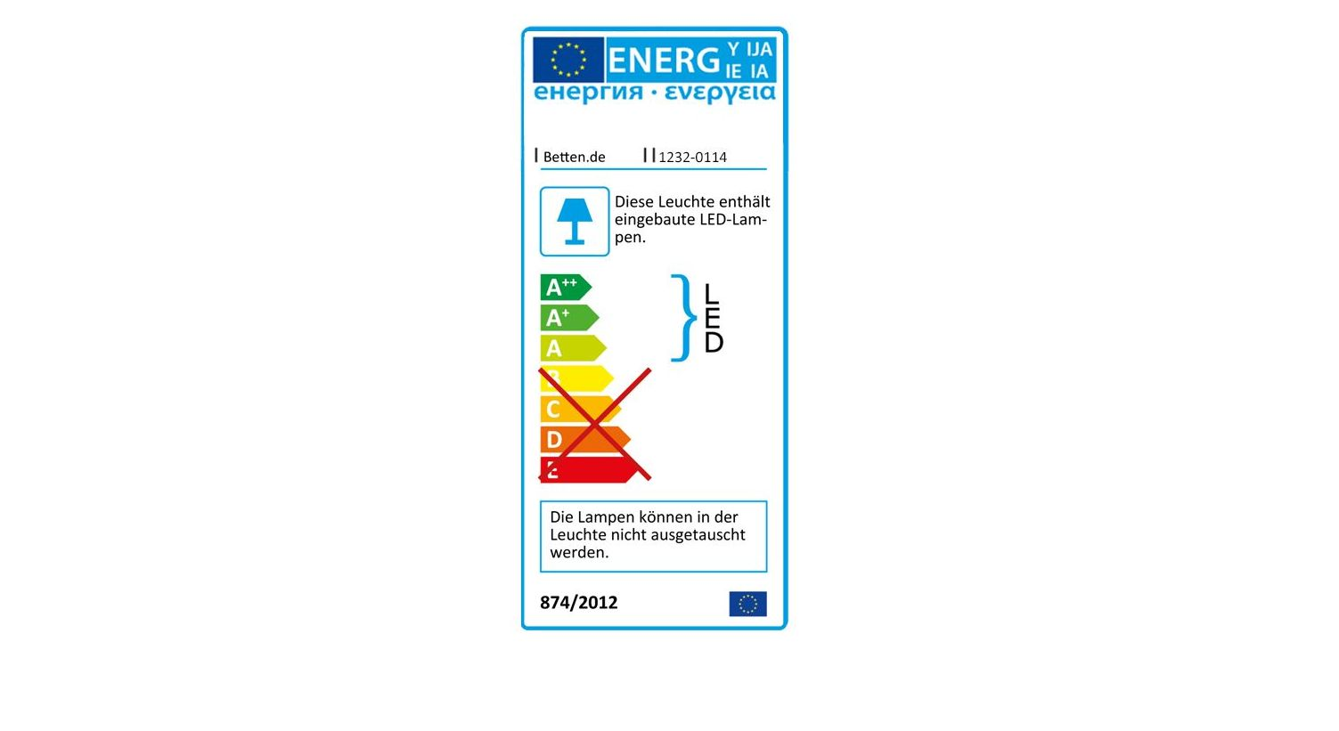 Energieverbrauch vom Kleiderschrank Plainville