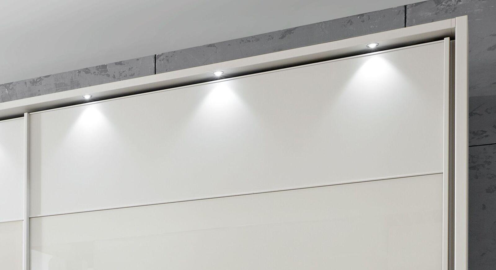 Schwebetüren-Kleiderschrank Birancas optionale Beleuchtung
