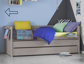Kinderbett mit bettkasten  Kinderbetten mit Bettkasten und Stauraum günstig kaufen